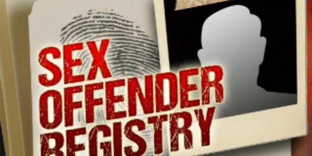 registered sex offender