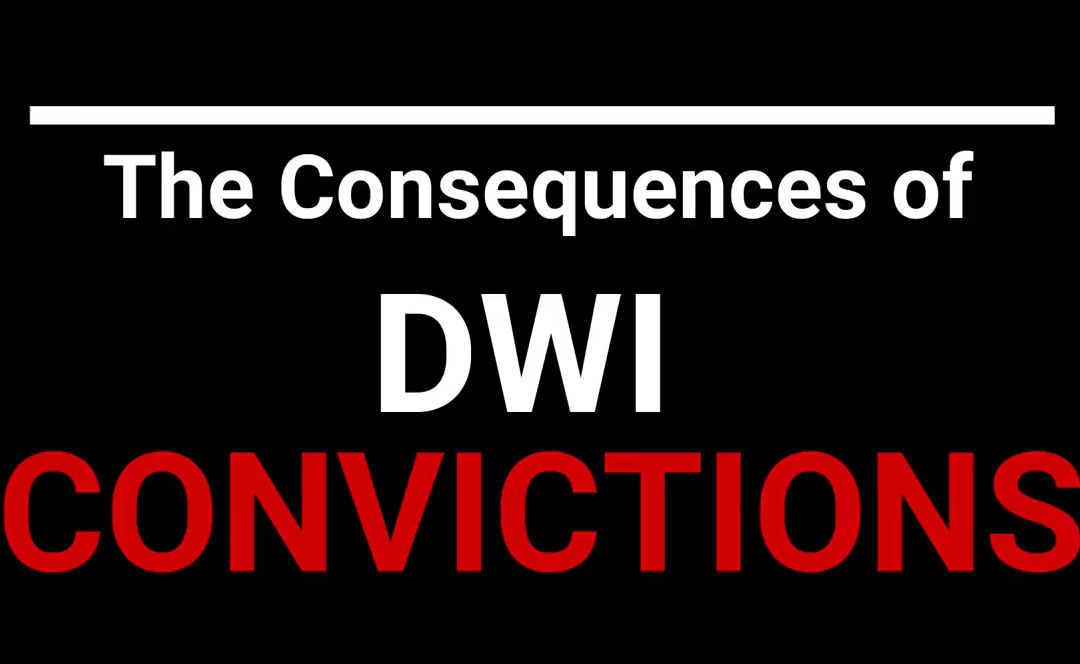 The Consequences of DWI Convictions in North Carolina