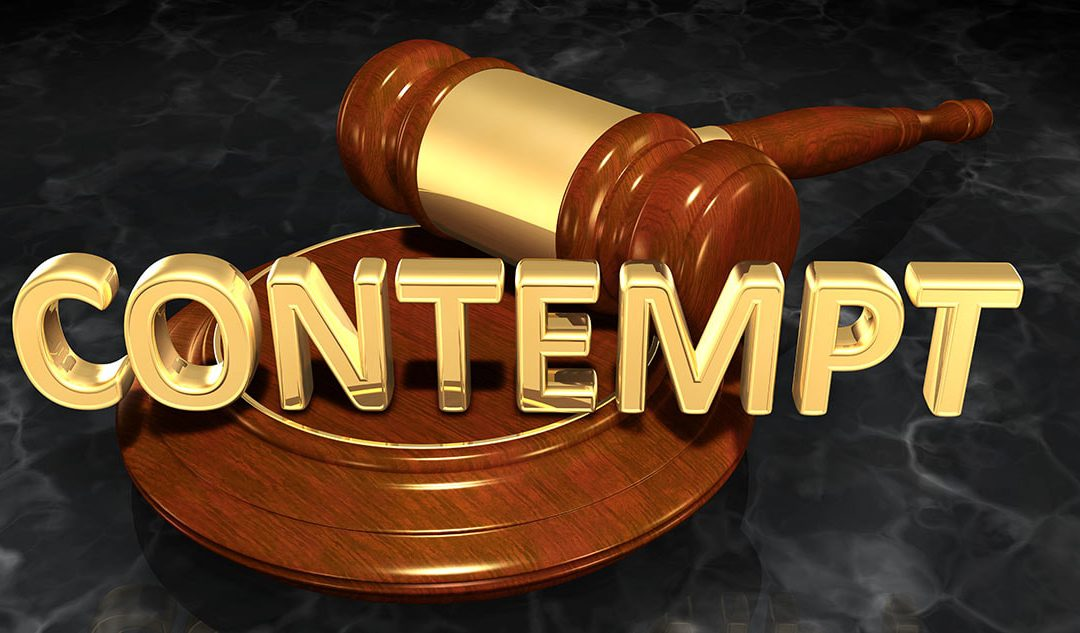 Criminal Contempt in North Carolina